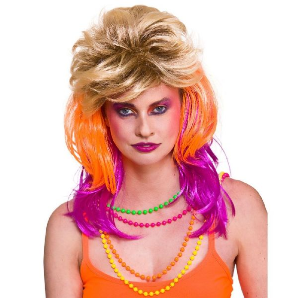 80's Cindi Wig Accessory Fancy Dress